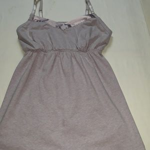 Oh Baby by Motherhood top. Size Small pink/purple